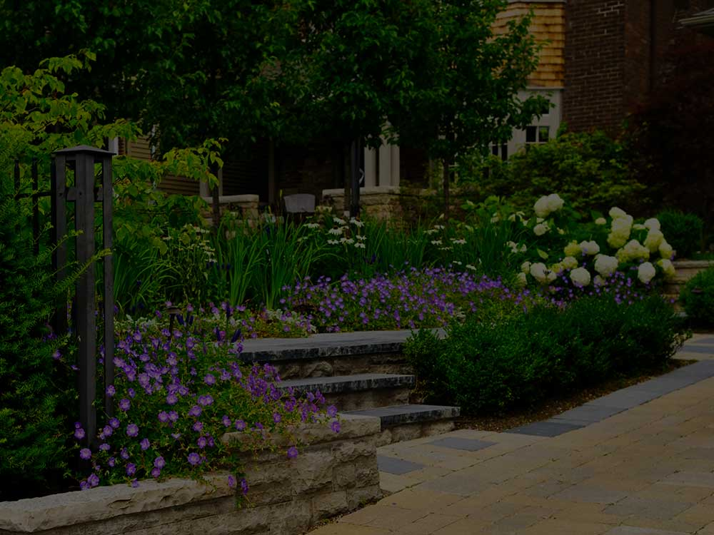 Westchester County Commercial Garden Design